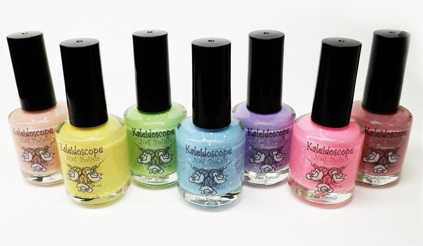 Лаки для ногтей EL Corazon Модница (Fashionista) Kaleidoscope. Модные лаки для ногтей лето-2014