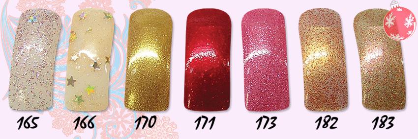 лак для ногтей с блестками, EL Corazon Glitter Shine 165,166,170,171,173,182,183